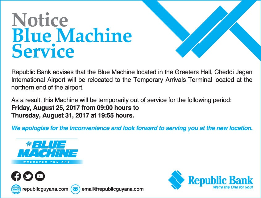 blue machine service